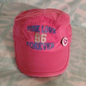 VS PINK RARE 🤩 Painters Hat/Cap NWT